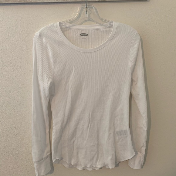 Old Navy Tops - Old Navy White Longsleeve
